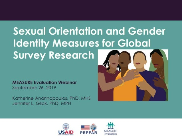 Sexual Orientation and Gender Identity Measures for Global Survey Research