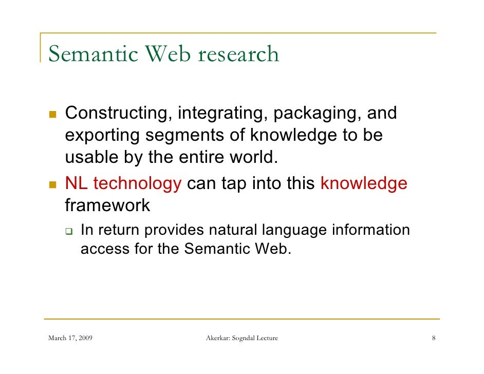 what is the relationship between semantic web and ontology