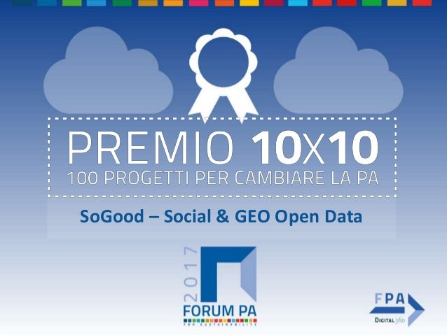 SoGood – Social & GEO Open Data