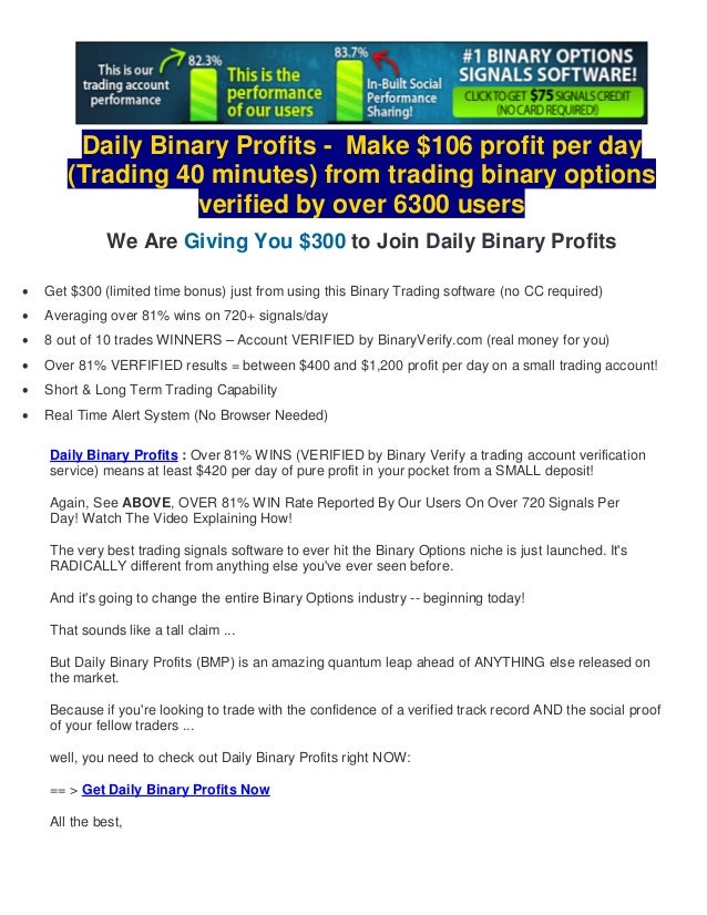 Is trading binary options legit