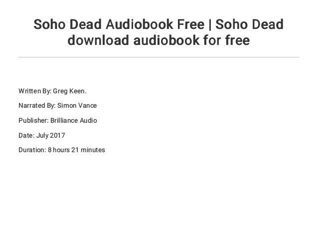 Soho Dead (The Soho Series)