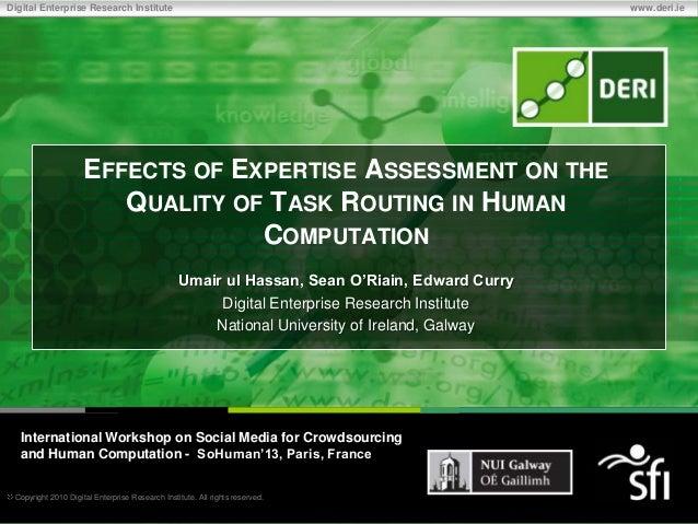 Copyright 2010 Digital Enterprise Research Institute. All rights reserved.Digital Enterprise Research Institute www.deri.i...
