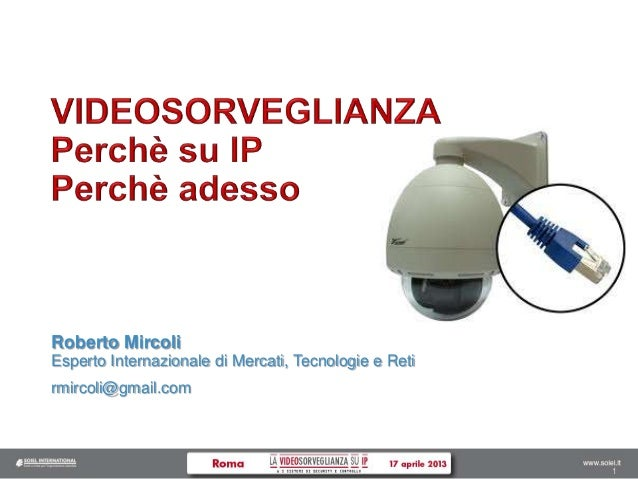 11 Roberto Mircoli Esperto Internazionale di Mercati, Tecnologie e Reti rmircoli@gmail.com