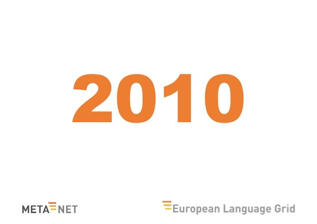 """The Preparation, Impact and Future of the META-NET White Paper Series """"Europe's Languages in the Digital Age"""" Slide 3"""