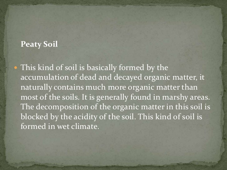 Soil and its origin for What is the origin of soil