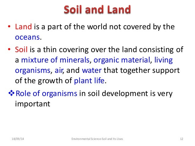 Soil and its uses group 5 for Importance of soil minerals
