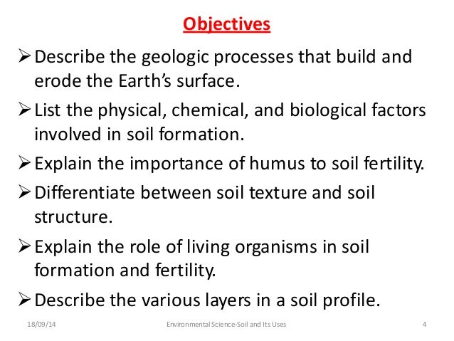 Soil and its uses group 5 for Describe soil