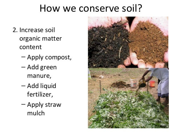 Soil and water conservation for dry zone of sri lanka for Soil resources definition