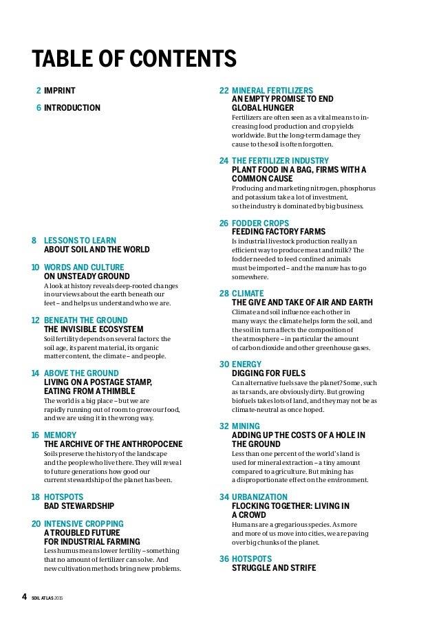 soil atlas 2015   status overview of soil in the world