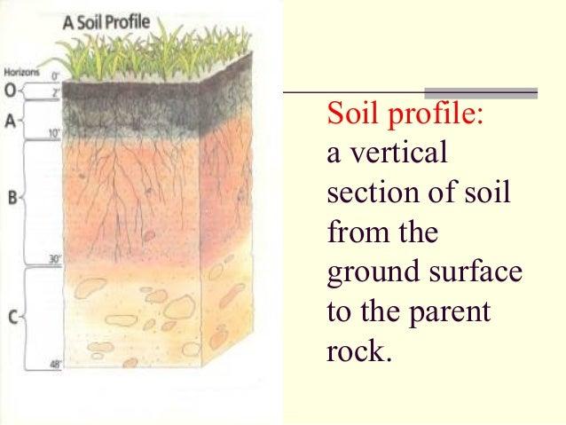 Soil classificatin