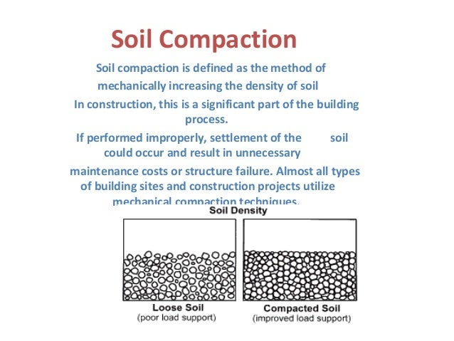 Geo technical engineering soil compaction for Soil characteristics definition
