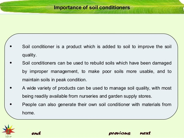 Soil conditioners and amendments for Importance of soil minerals