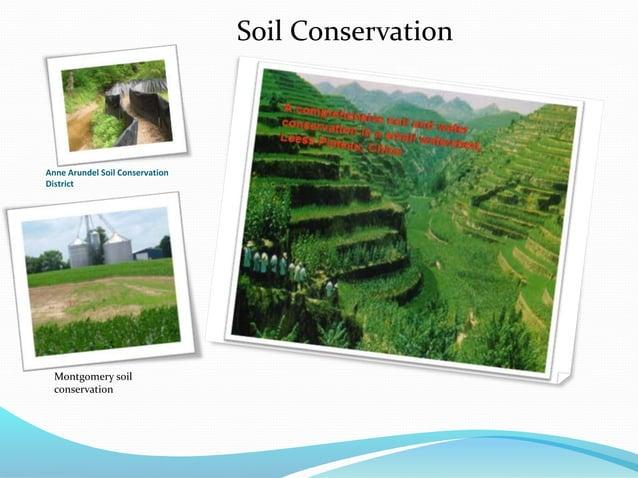 Anne Arundel Soil Conservation District Soil Conservation Montgomery soil conservation