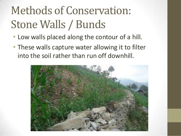 information about soil erosion and conservation