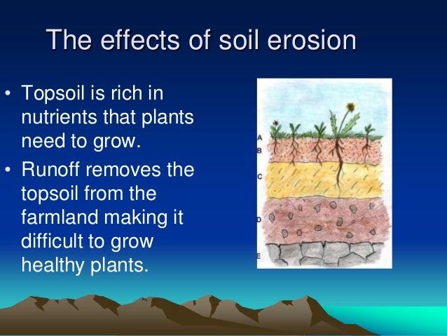 soil erosion case study in an ledc