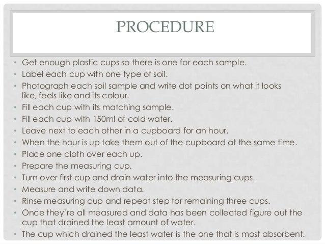 Soil experiment Slide 2