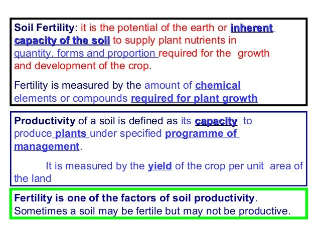 Soil fertility evaluation p k mani for What is meant by soil