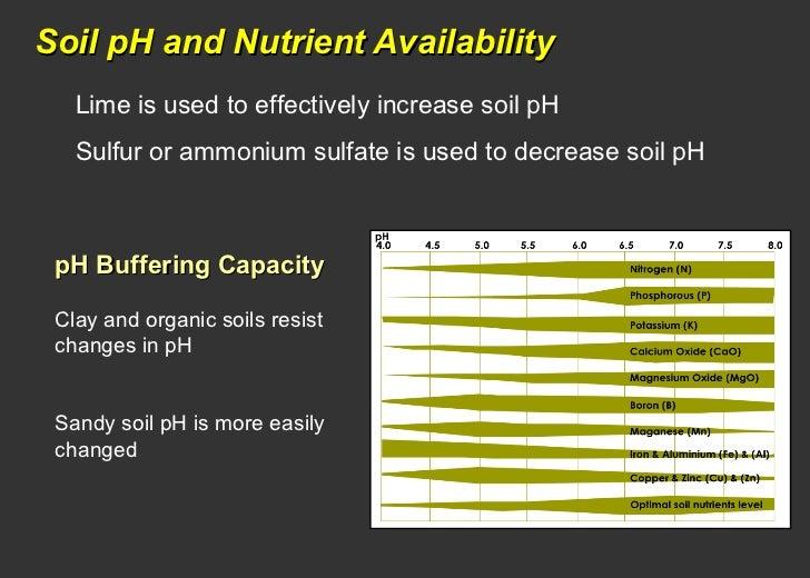 soil fertility testing