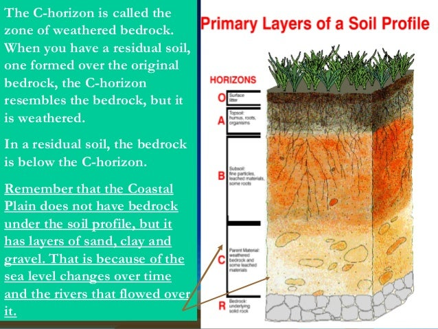 Soil layers worksheet