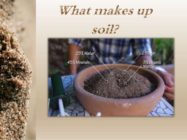 Soil horizons and soil sampling methods for What 5 materials make up soil