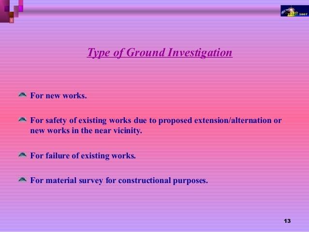 Soil investigation by aurangzeb for Soil investigation