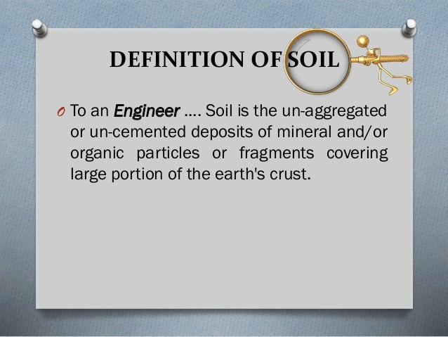 Soil mech lec ppt for Mineral soil definition