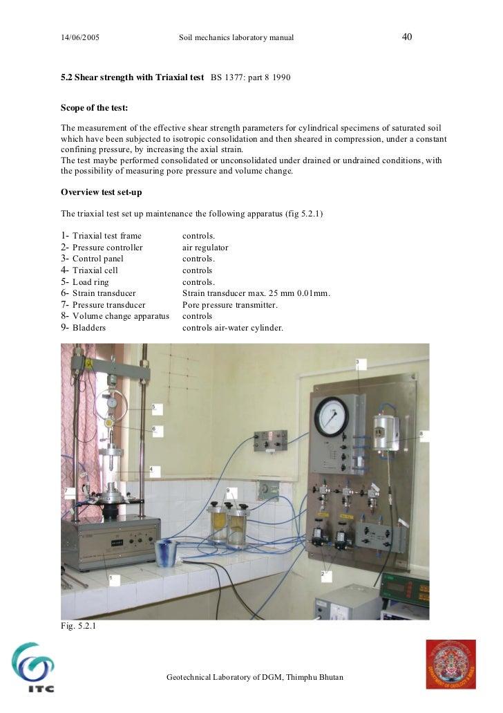 soil mechanics laboratory manual rh slideshare net soil testing laboratory manual and question bank pdf soil testing laboratory manual and question bank pdf