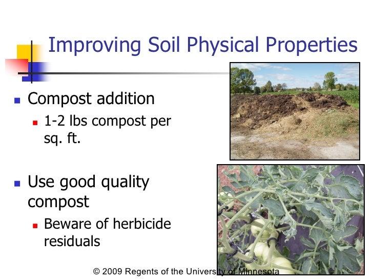 High tunnel soil management for Soil management