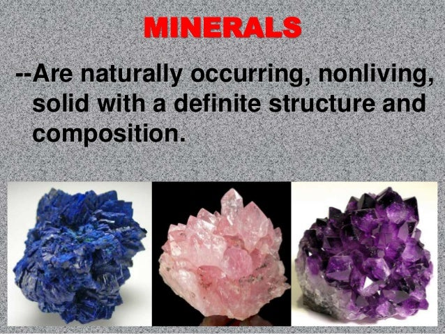 soil mineral resources