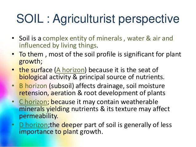 Soil moisture for Importance of soil minerals