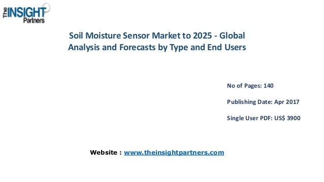 Soil Moisture Sensor Market to 2025 - Global Analysis and Forecasts by Type and End Users No of Pages: 140 Publishing Date...