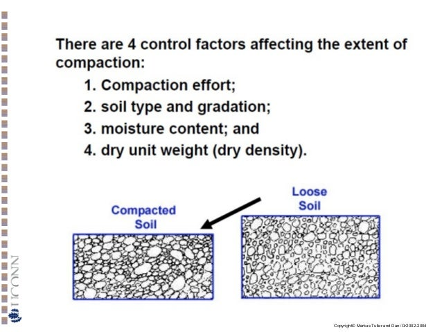 Soil physics atterberg limit compaction shear strength for Soil factors