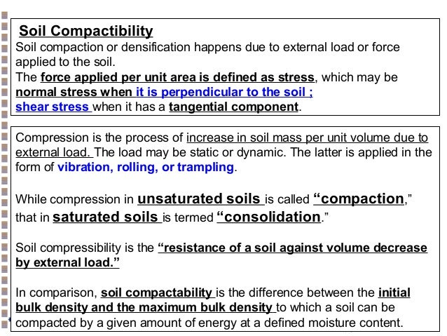 Soil physics atterberg limit compaction shear strength for 90 soil compaction