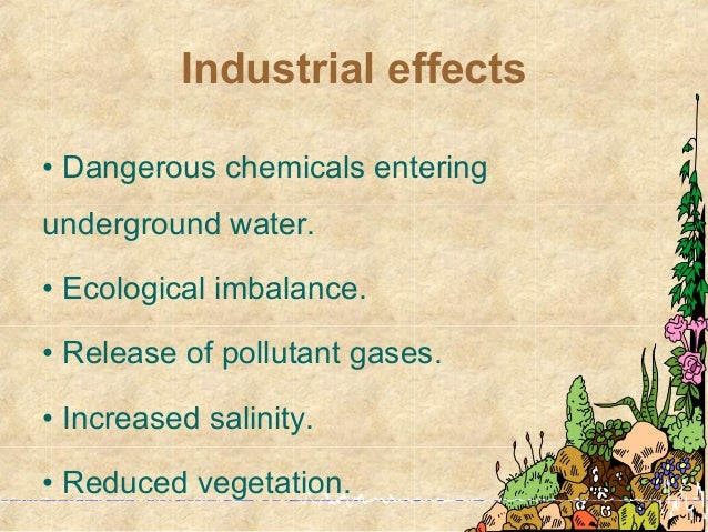 consequences of ecological imbalance Man made ecological imbalance has ruined the eco system of the earth - our mother planet  the clutches of pollution , deforestation and several other activitiese that result in imbalance in .