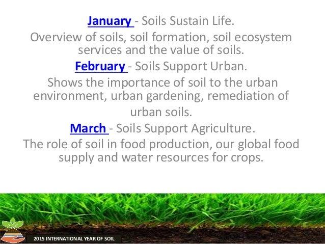 Soil presentation 2 2 for Soil society of america