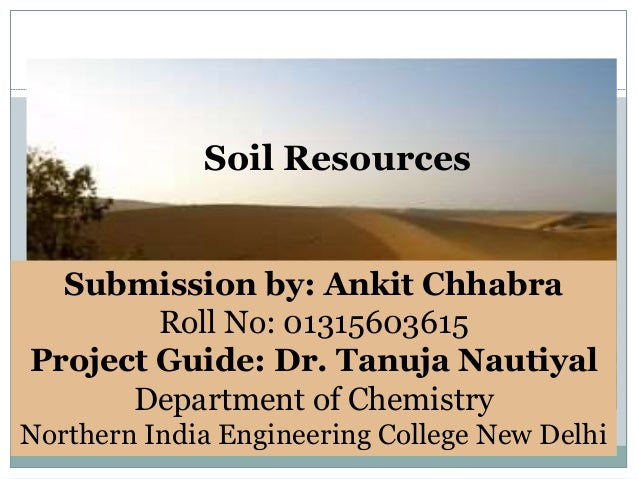 Soil resources for About soil resources