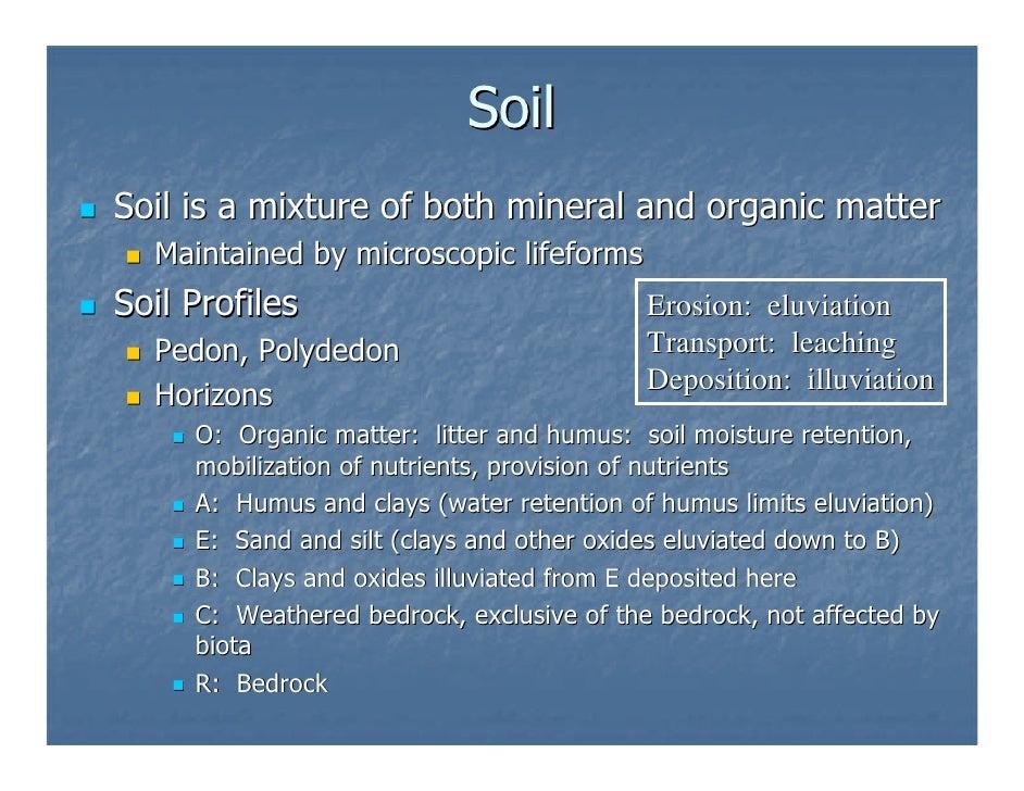 Soils for Soil development definition