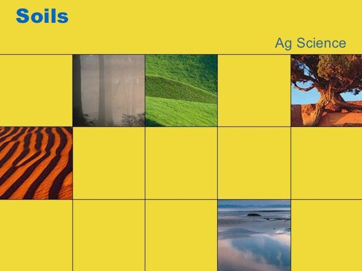 Soils Ag Science
