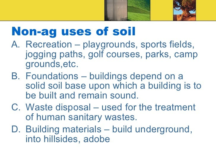 Soil science for Soil and its uses