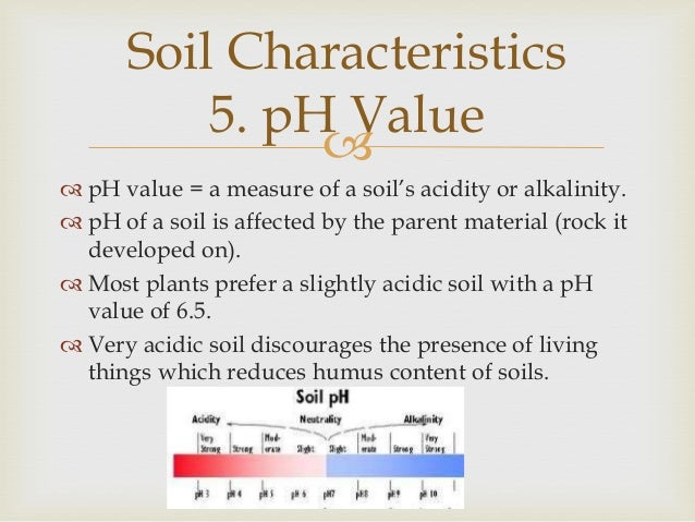 Soils for What are soil characteristics