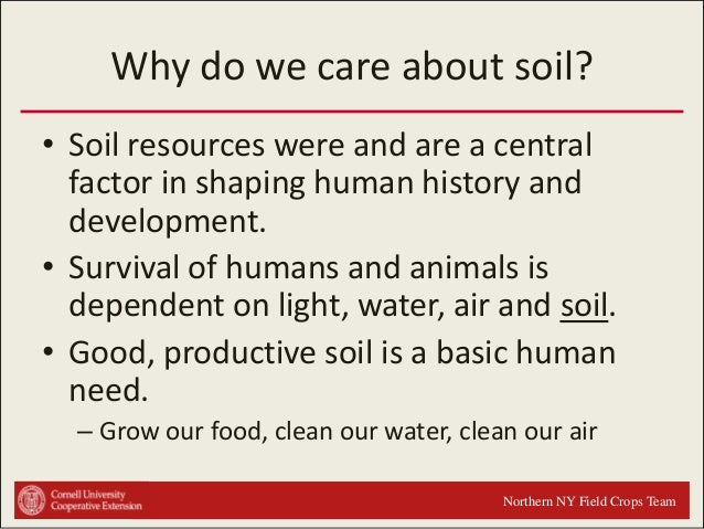 Soils 101 intro for Meaning of soil resources