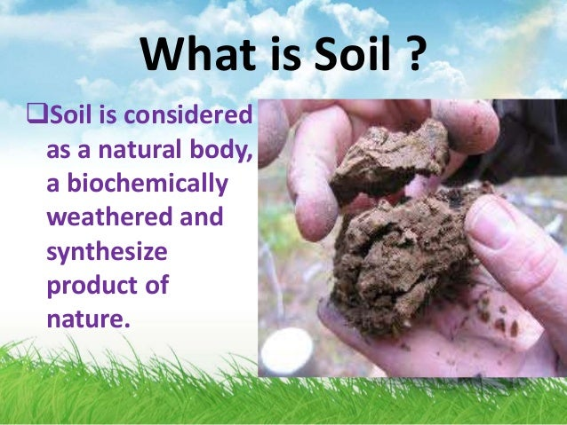 Soil science and soil defination for What is soil science