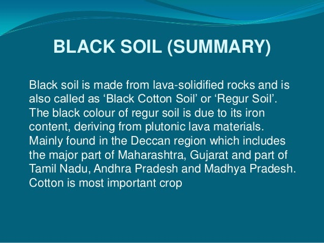 information on black soil Vertosols vertosols are the most common soil in queensland—characteristics include: brown, grey or black soils which crack open when dry they commonly form.