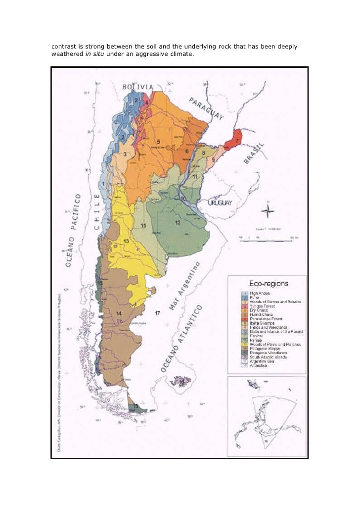 Soils of argentina nature and use for Three uses of soil