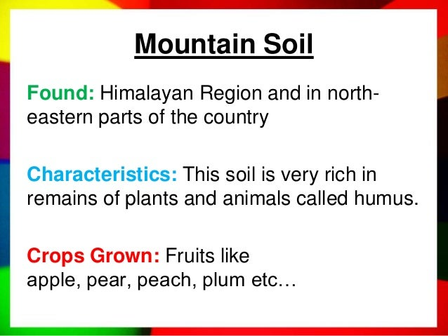 Soils of india for What is rich soil called