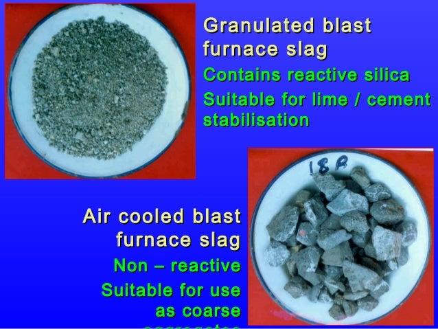 Blast Furnace Lime : Soil stab use of new ppt dr msa edusat rev