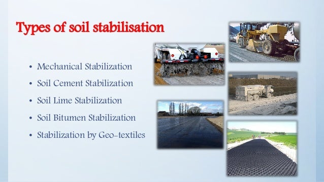 what is soil stabilization pdf