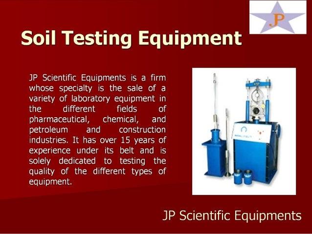 Soil Testing Equipment Companies