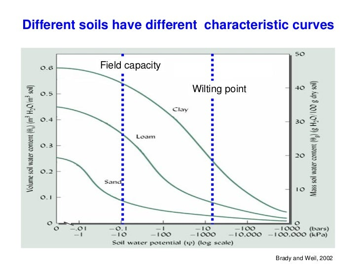 Understanding soil water for Why are soils different