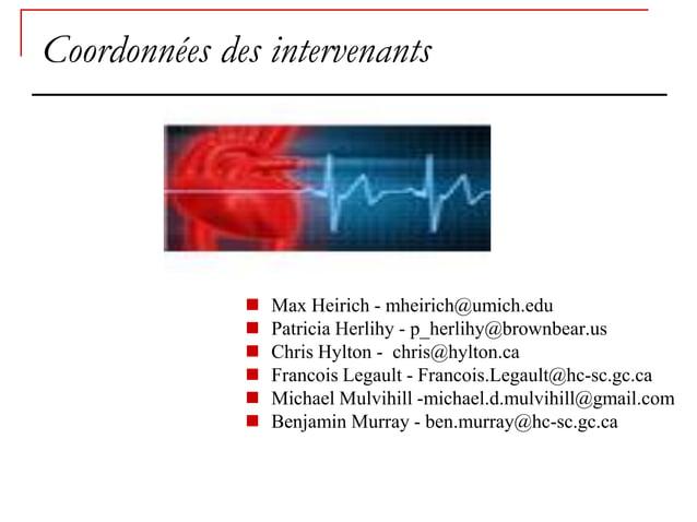 Coordonnées des intervenants                 Max Heirich - mheirich@umich.edu                 Patricia Herlihy - p_herli...